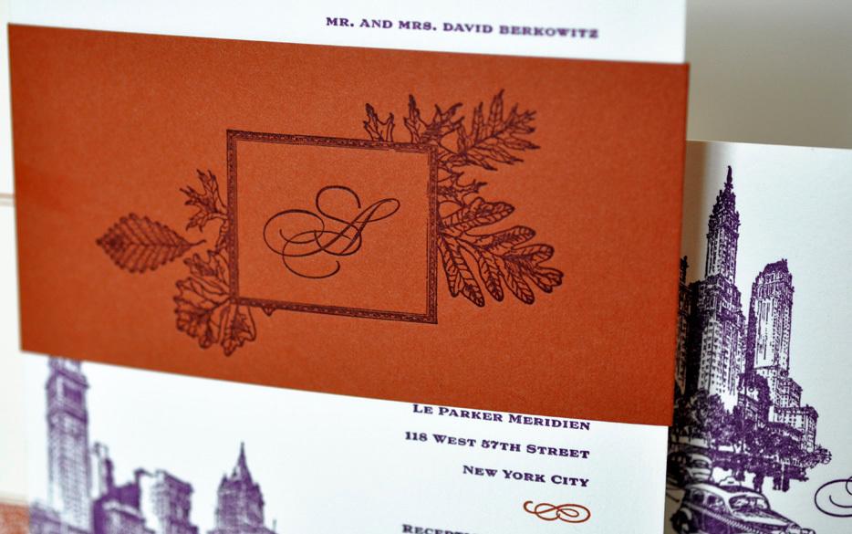 Orange And Purple Fall Wedding Invitations Wedding Invitation Ideas – Purple Fall Wedding Invitations