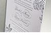 Unforgettable-wedding-invitations-gray-white-calligraphy-letterpress-wedding-stationery.square