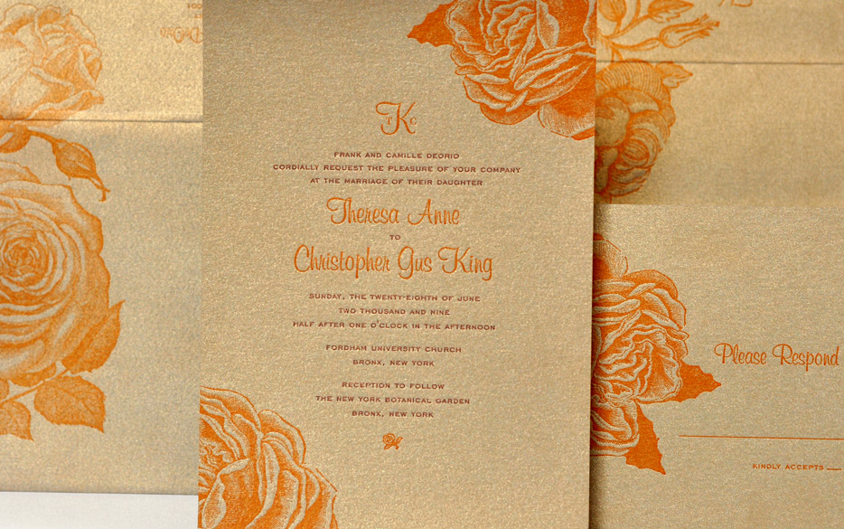 Orange And Gold Wedding Colors images