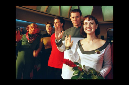 photo of wacky wedding photos weird crazy weddings friday the 13th star trek