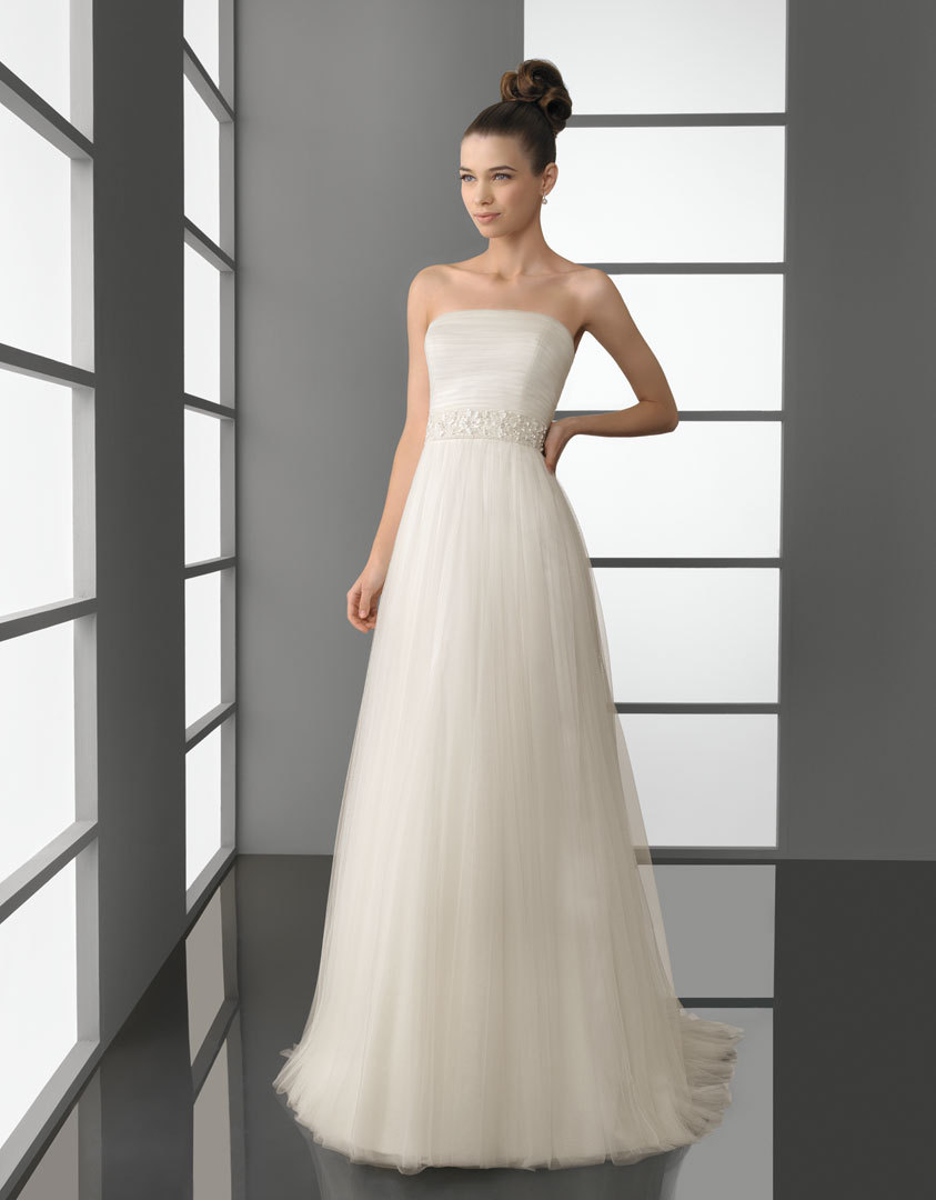 2012 wedding dress aire barcelona bridal gowns Pascal
