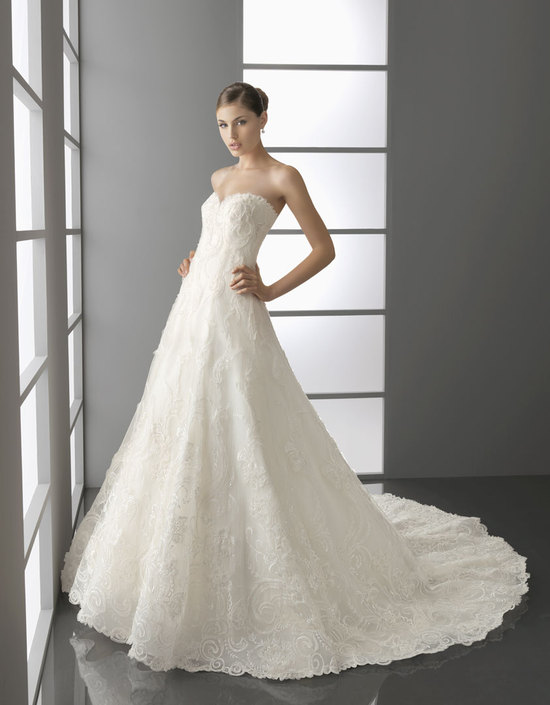 2012 wedding dress aire barcelona bridal gowns Pacifico