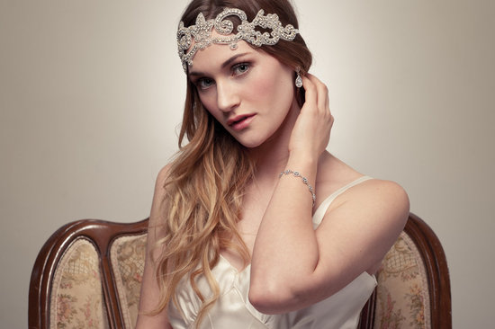 bohemian bride wedding hair accessories handmade beaded