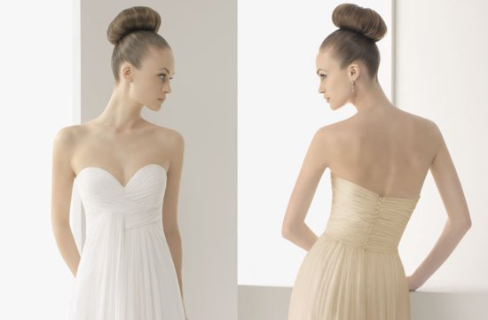 2012 wedding dresses soft by rosa clara bridal gown sweetheart covered buttons up back