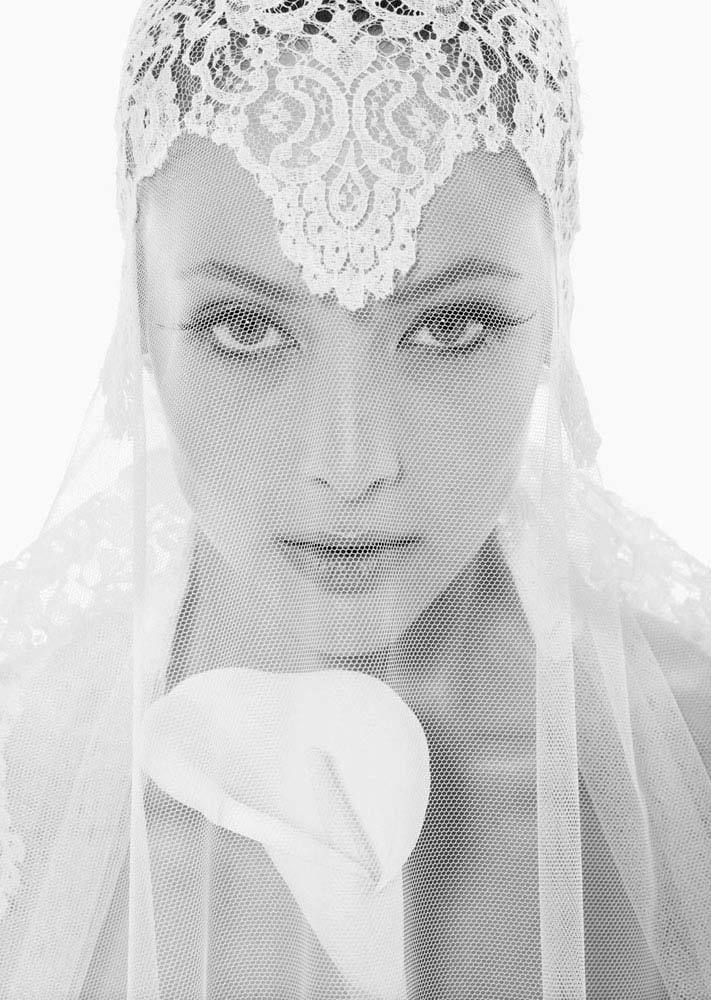 romantic bridal veils by rosa clara vintage inspired lace net