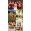 Outdoor-country-western-themed-wedding-colorful-wedding-flowers-centerpieces-maroon-bridesmaids-dresses.square