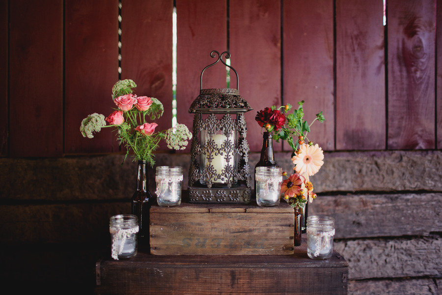 Romantic-outdoor-wedding-lace-decor-pink-red-peach-wedding-flowers.full