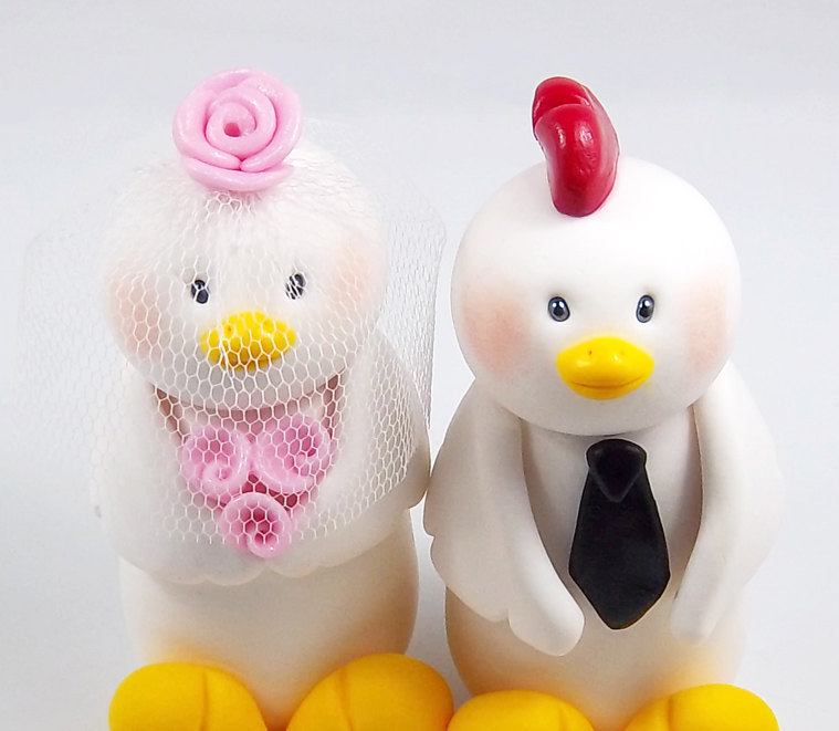 Adorable-wedding-cake-toppers-handmade-wedding-etsy-1.full