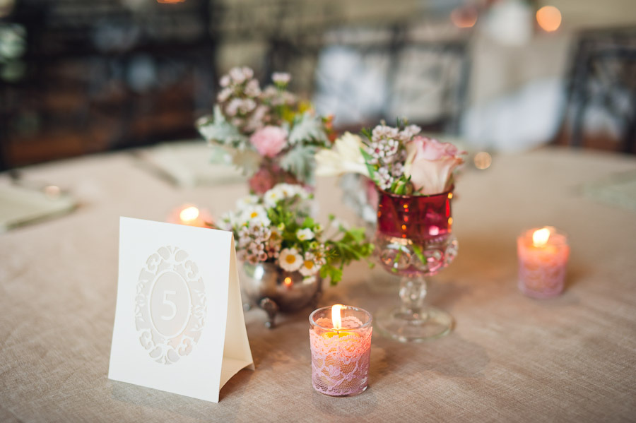 Lace Diy Wedding Projects Romantic Reception Decor Candles