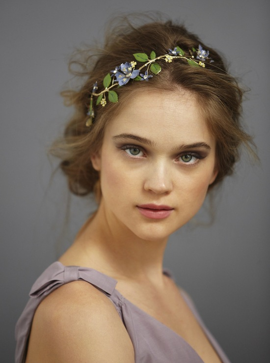 photo of Orchard in Summer bridal headband by BHLDN