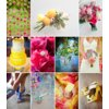 Colorful-wedding-inspiration-hot-pink-yellow-soft-green-periwinkle.square