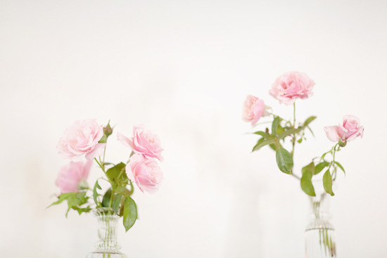 light pink wedding flowers centerpieces for spring wedding