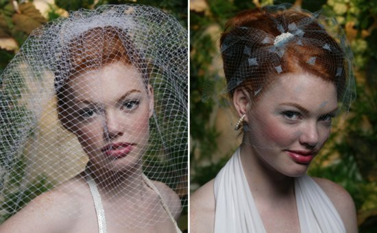 photo of The Cage Veil vs. Traditional Bridal Veil