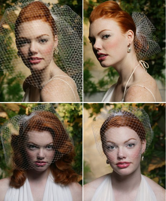 bridal veils birdcage wedding veils 2012 bridal trends