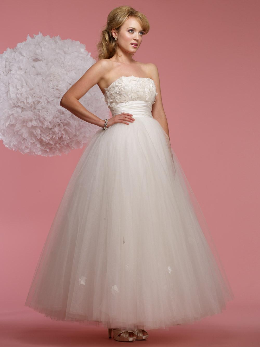 vintage inspired wedding dress 2012 bridal gowns steven birnbaum ...