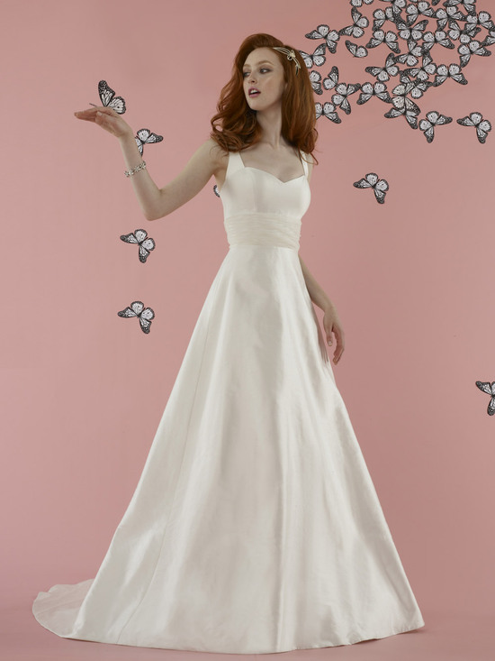 2012 wedding dress YSL inspired bridal collection Paula