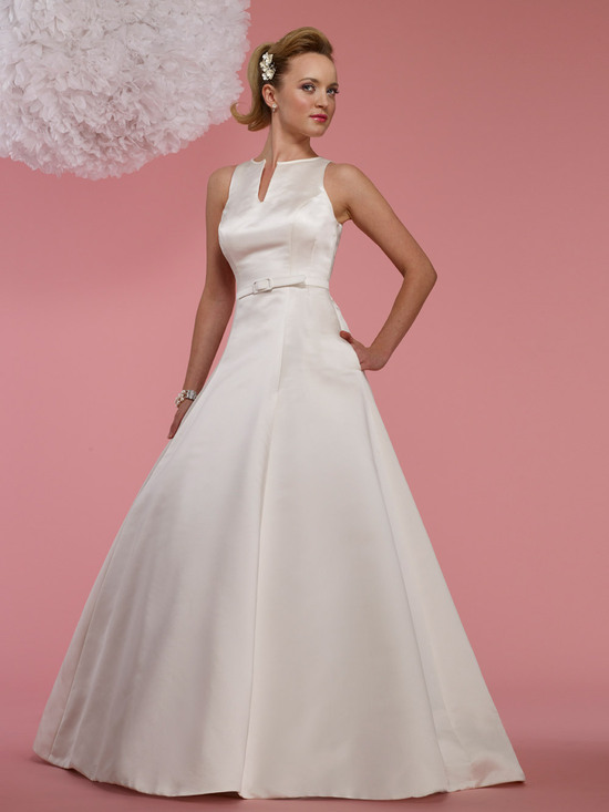 photo of Say YES to a YSL-Inspired Wedding Dress