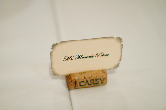 romantic winery wedding outdoor wedding venues escort card holders