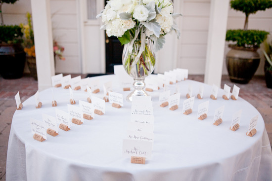 romantic winery wedding outdoor wedding venues escort card table
