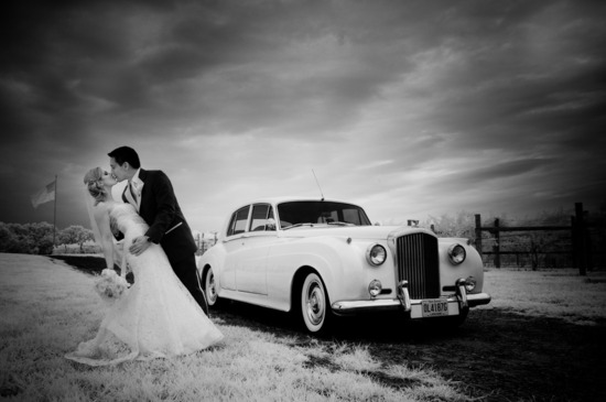 romantic winery wedding outdoor wedding venues black white bride groom