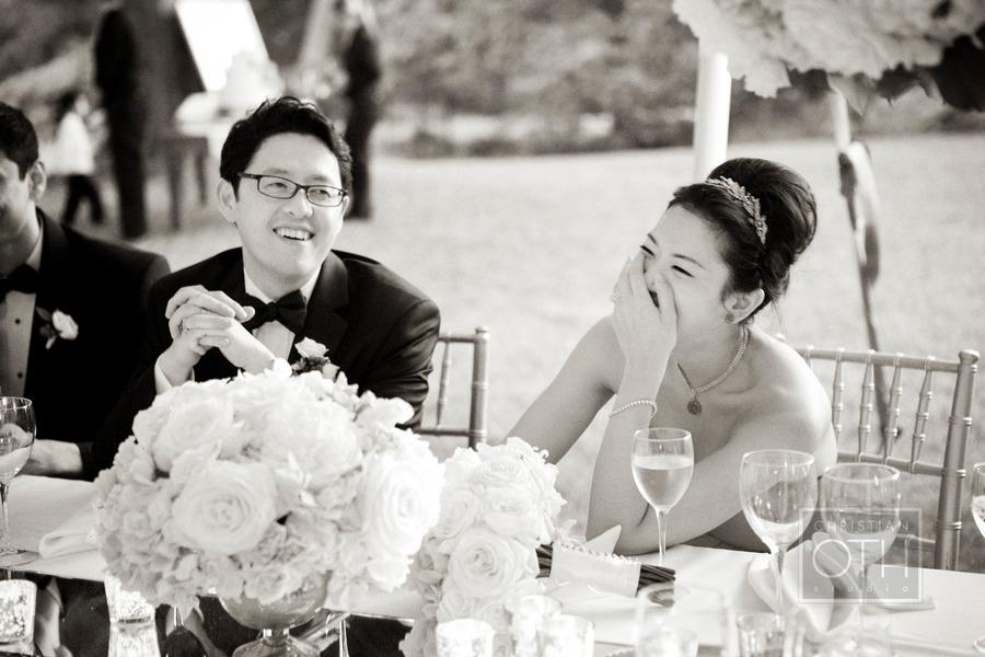 Black-white-wedding-photo-bride-groom-during-toasts.full