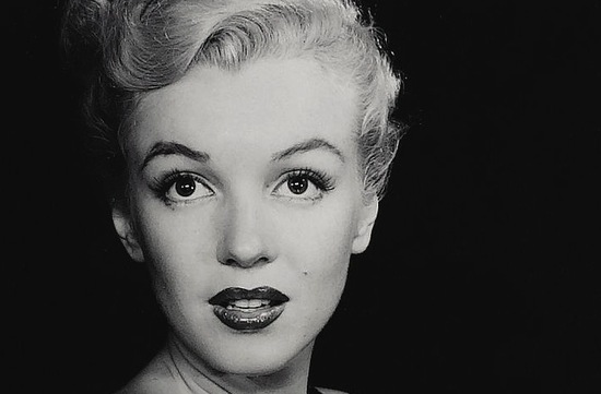 vintage brides wedding hair makeup inspiration black white wedding photos marilyn monroe 3