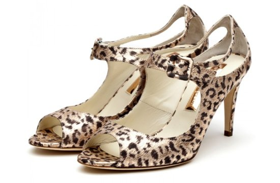 leopard print wedding shoes wild bridal heels