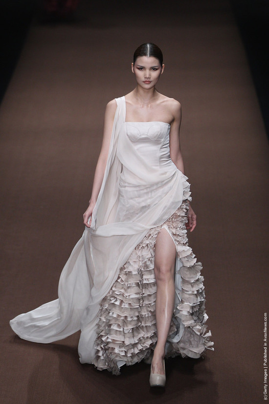 wedding dress inspiration from china fashion week 2012 2