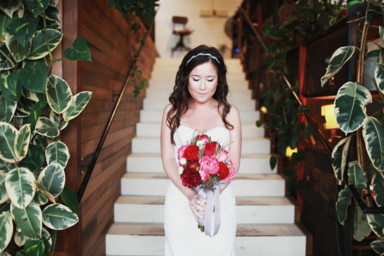 photo of Drool-Worthy Real Wedding All About Love