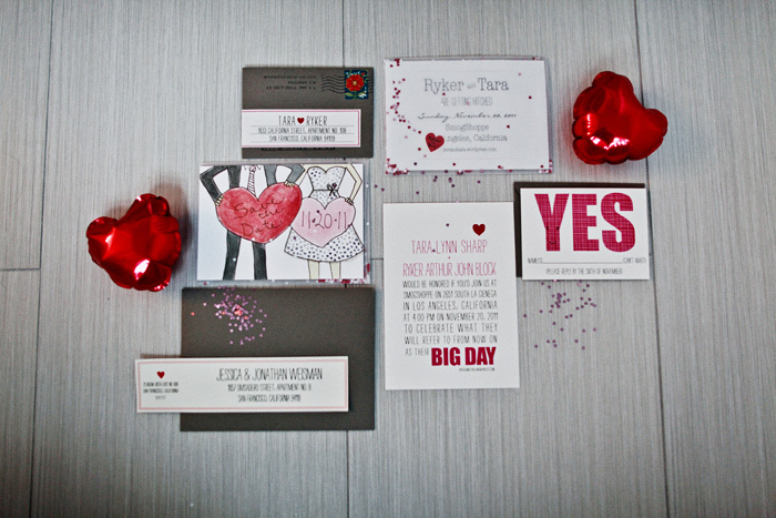 Love-themed-real-wedding-cute-save-the-dates-wedding-invitations.full