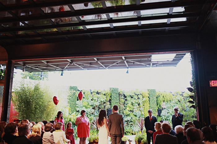 Indoor Outdoor Wedding Venue Ceremony