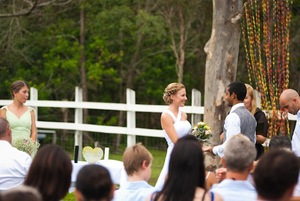 photo of Intimate, Romantic, Outdoor Wedding