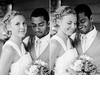 Bride-groom-pose-after-wedding-ceremony-black-and-white.square