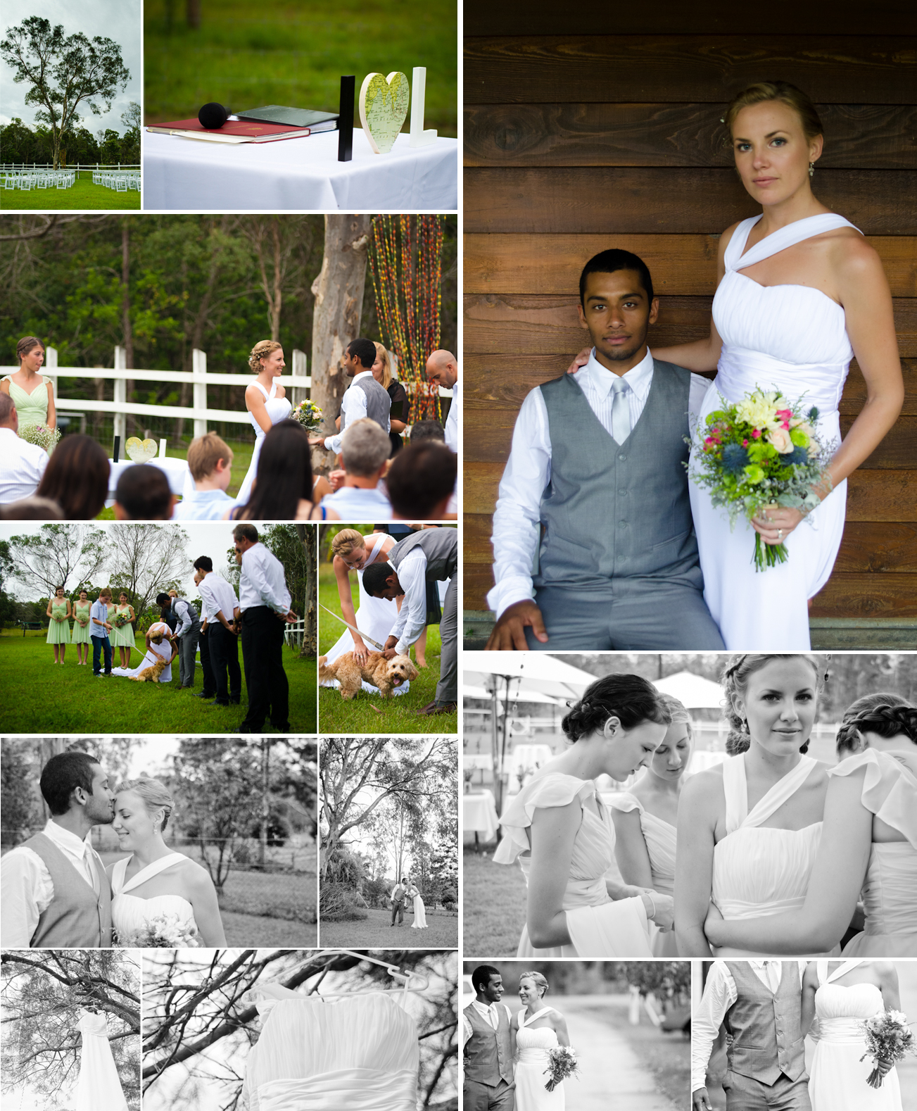 Romantic outdoor wedding simple ceremony onewed com