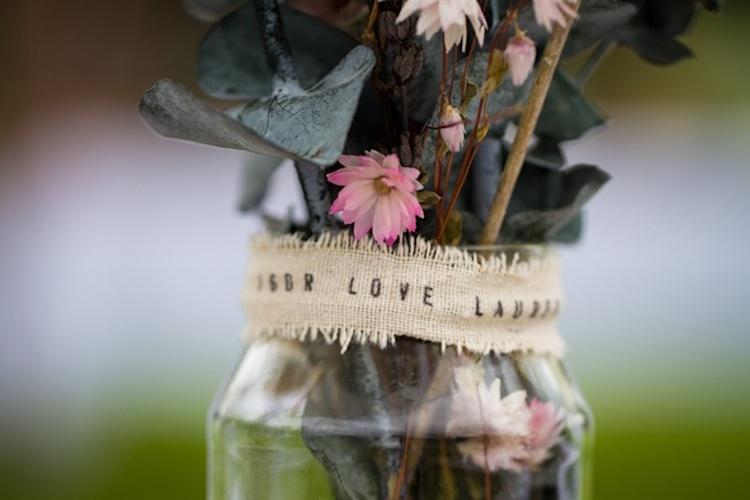 Romantic outdoor wedding spring inspiration mason