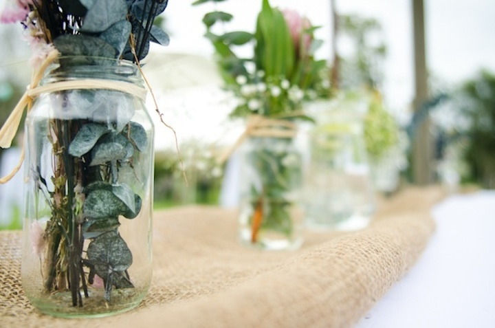 Romantic-outdoor-wedding-spring-wedding-inspiration-mason-jar-centerpieces-2.full