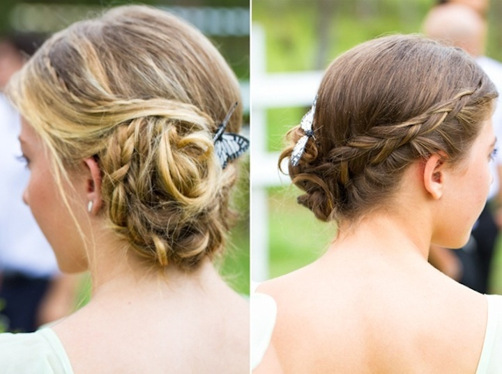 romantic outdoor wedding spring wedding inspiration romantic wedding hairstyles