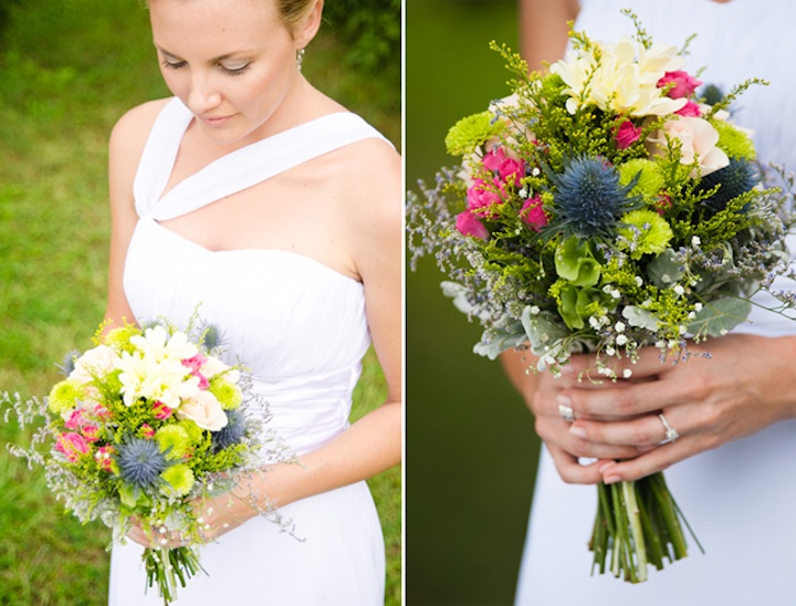 Romantic Outdoor Wedding Spring Wedding Inspiration Bridal Bouquet White Wedding Dress