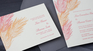 photo of Save 50% on Your Wedding Invitations