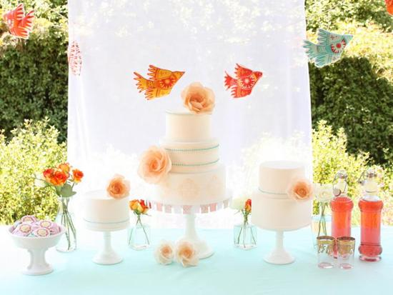 pretty romantic wedding cakes 7