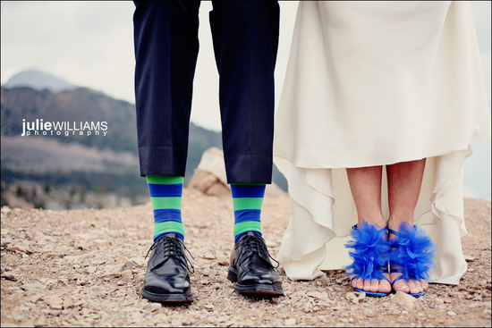 photo of Cobalt Blue Wedding Inspiration