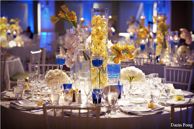 Details-hotel-del-coronado-cobalt-white-yellow-wedding-centerpiece1.full