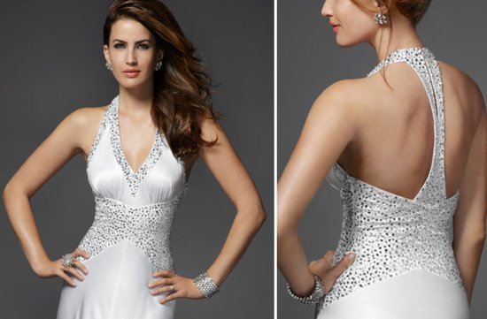 2012 debut wedding collection from bebe beaded bridal gown