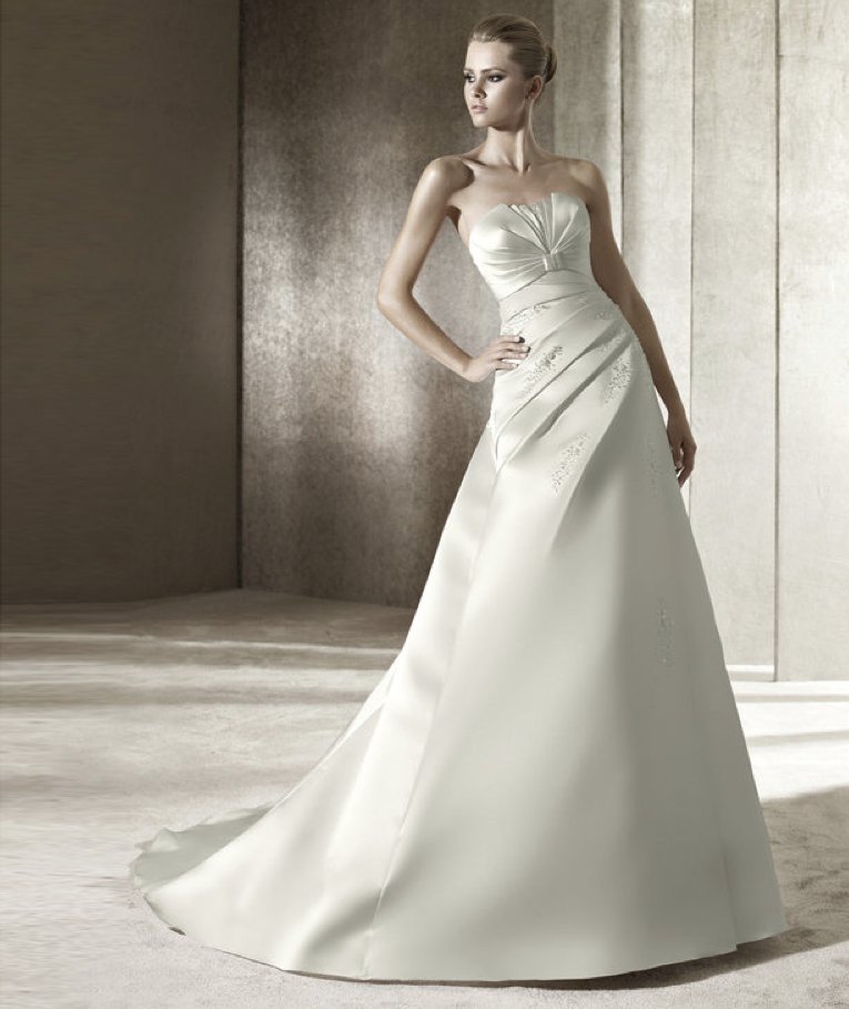 2012 wedding dress pronovias you collection affordable bridal gowns Judith