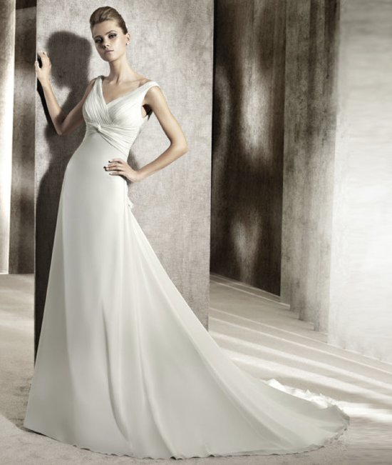 photo of 2012 wedding dress pronovias you collection affordable bridal gowns Jaguar