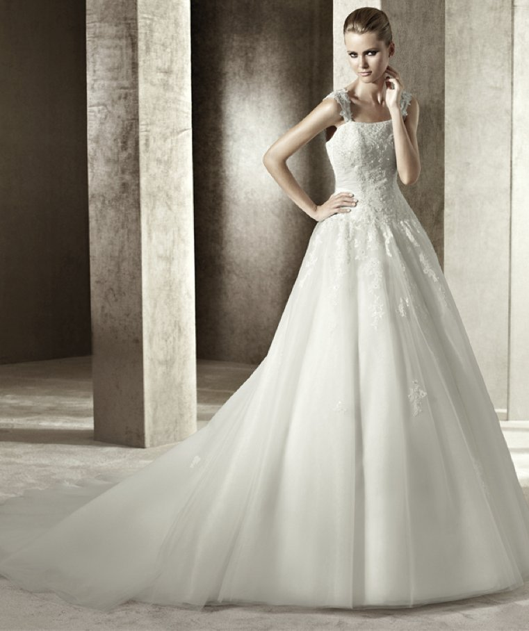 photo of 2012 wedding dress pronovias you collection affordable bridal gowns Jezebel