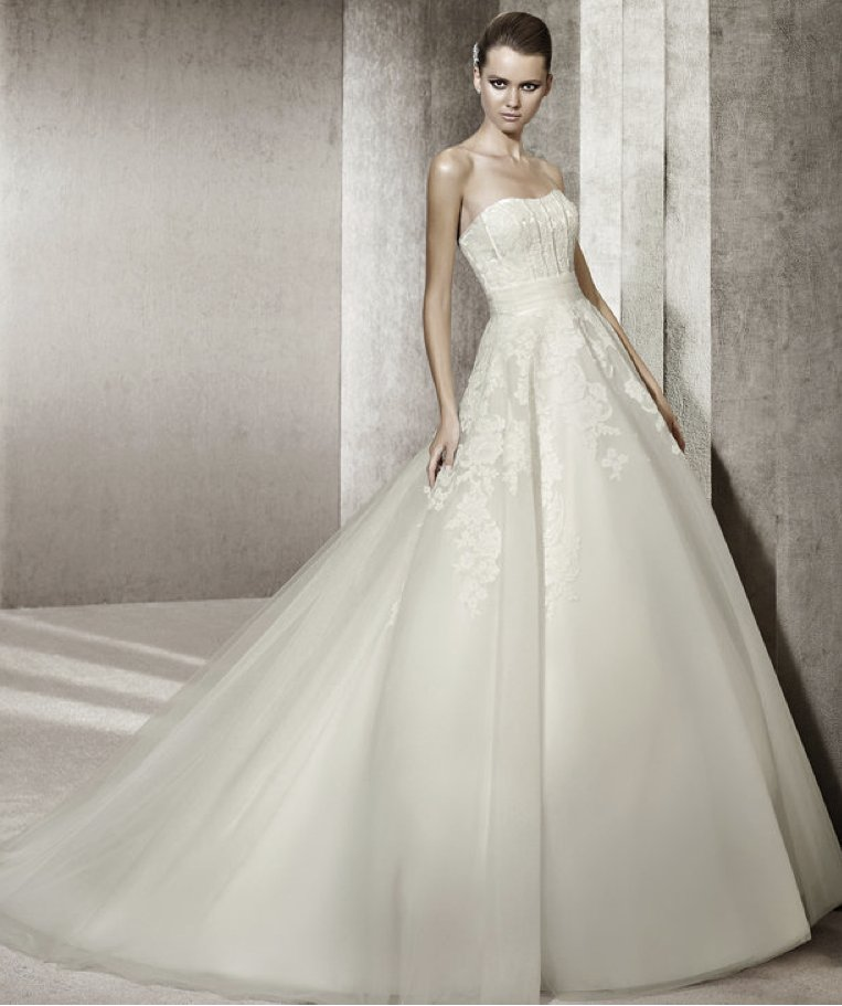 2012 wedding dress pronovias you collection affordable bridal gowns Jennifer