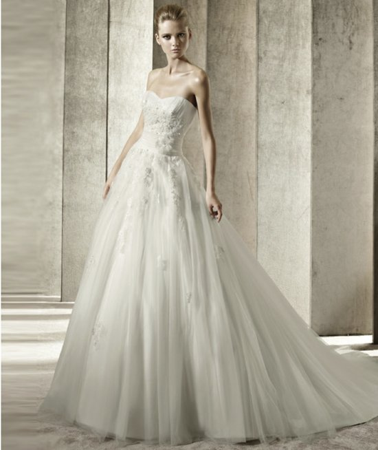 2012 wedding dress pronovias you collection affordable bridal gowns Jenny