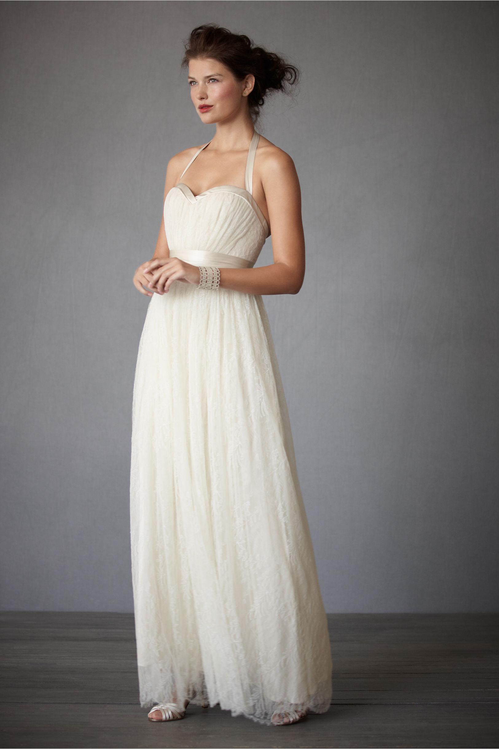 halter wedding dress ivory 2012 bhldn bridal gowns