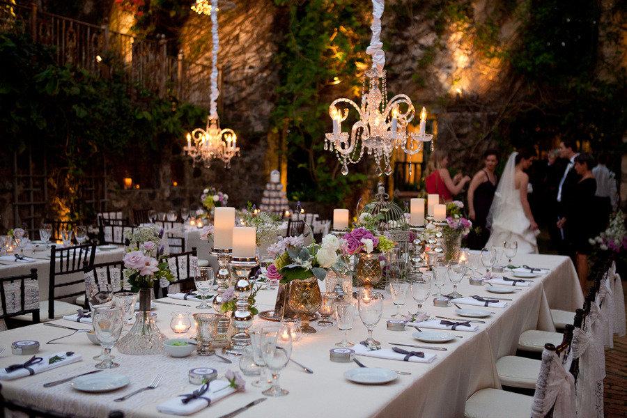 10 Romantic Outdoor Wedding Venues: Romantic Garden Wedding Outdoor Venue